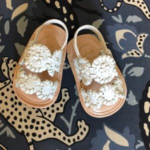 New Jack Rogers sandals- white